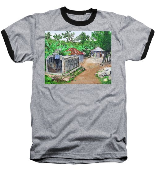 Rural Haiti - A Study In Poignancy Baseball T-Shirt