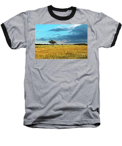 Rural Idyll Poetry Baseball T-Shirt