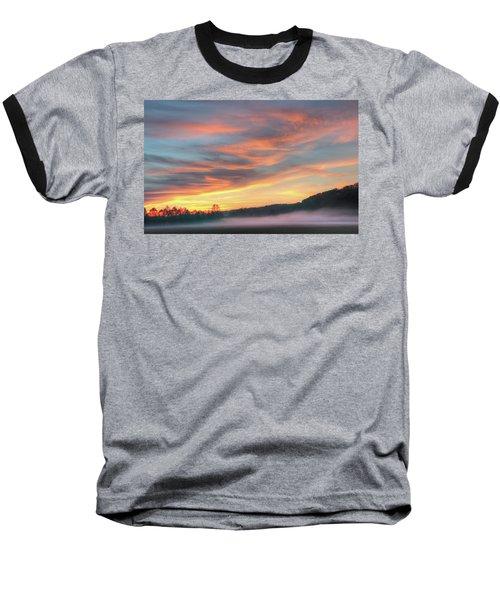 Rural Missouri Sunrise Baseball T-Shirt