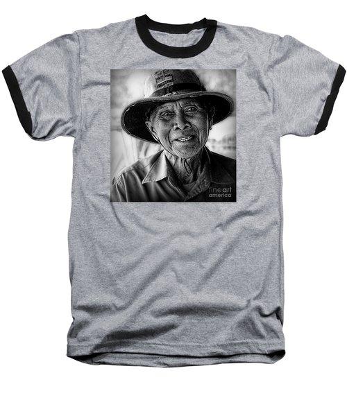 Rural Rice Farmer Baseball T-Shirt
