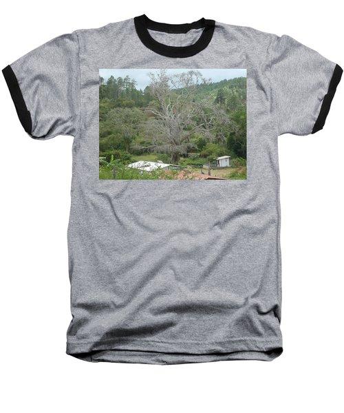 Rural Scenery Baseball T-Shirt