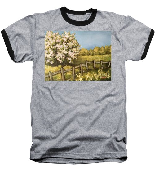 Rural Spring Baseball T-Shirt
