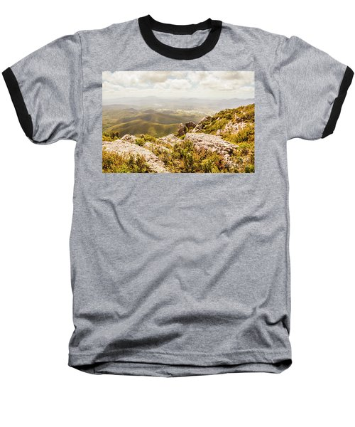 Rural Town Valley Baseball T-Shirt