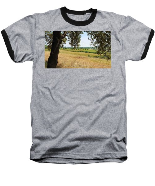 Baseball T-Shirt featuring the photograph Rural Tuscany by Valentino Visentini