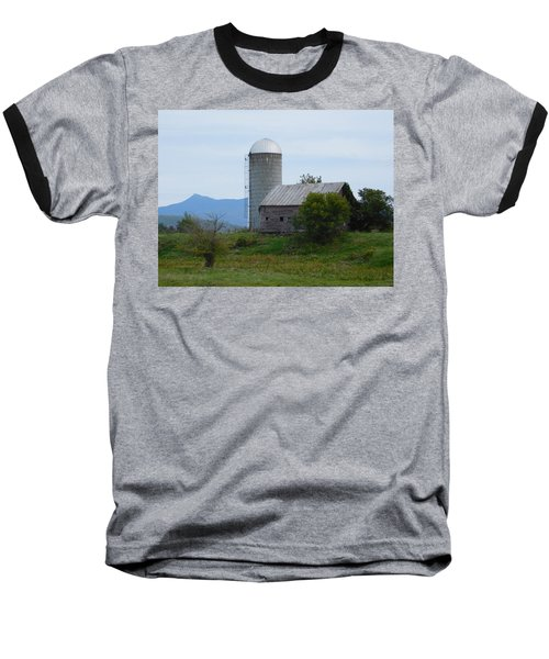 Rural Vermont Baseball T-Shirt by Catherine Gagne