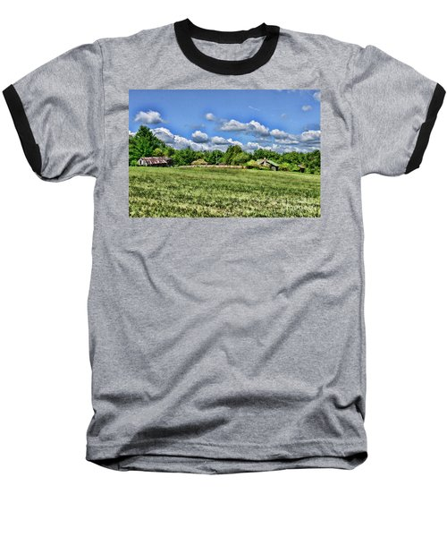 Rural Virginia Baseball T-Shirt by Paul Ward