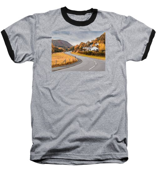 Rural Wales In Autumn Baseball T-Shirt
