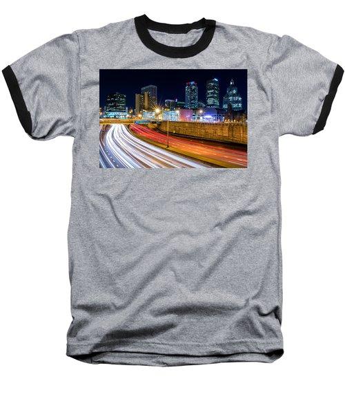 Rush Hour In Hartford, Ct Baseball T-Shirt