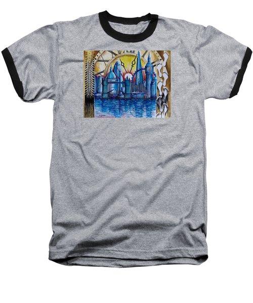 Rush Hour In London Baseball T-Shirt