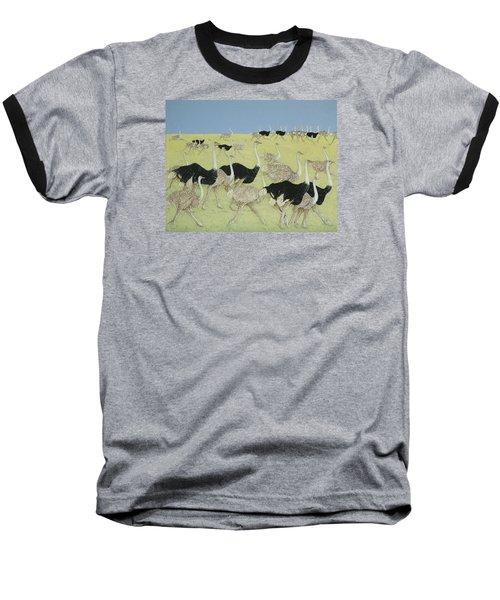 Rush Hour Baseball T-Shirt by Pat Scott