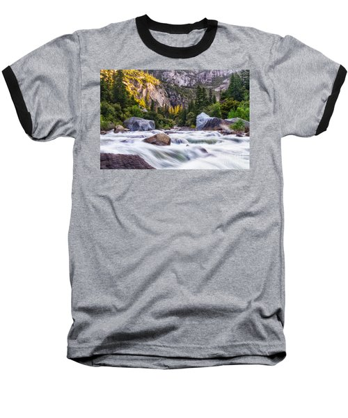 Rush Of The Merced Baseball T-Shirt
