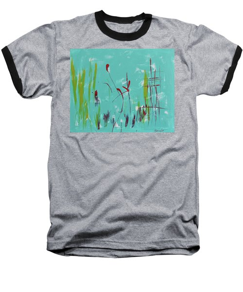 Rushes And Reeds Baseball T-Shirt
