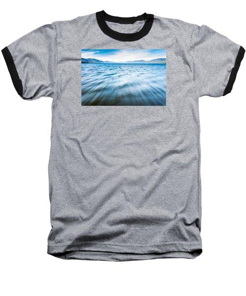 Rushing Away Baseball T-Shirt