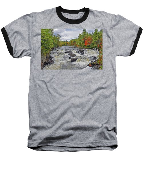 Baseball T-Shirt featuring the photograph Rushing Towards Fall by Glenn Gordon