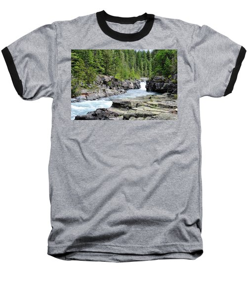 Rushing Water Baseball T-Shirt