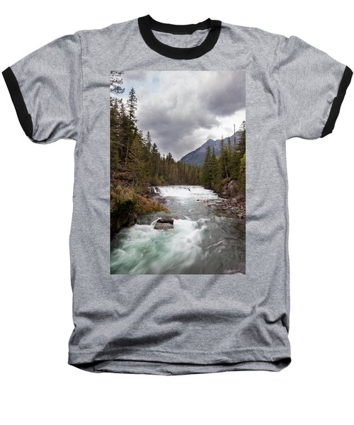 Baseball T-Shirt featuring the photograph Rushing Waters by Fran Riley