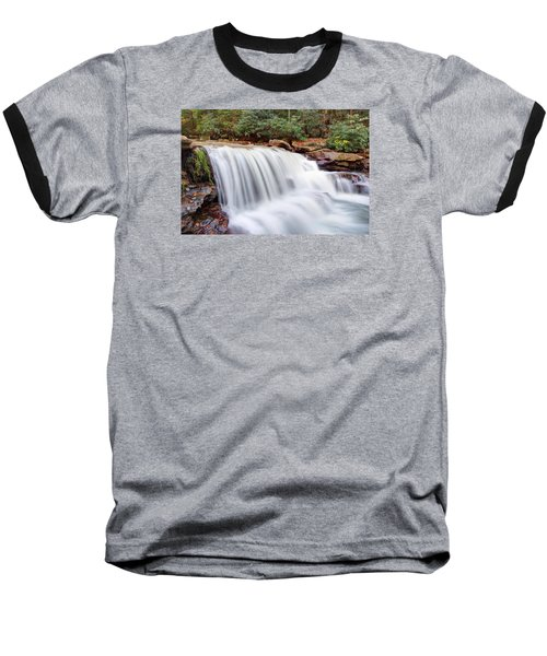 Rushing Waters Of Decker Creek Baseball T-Shirt