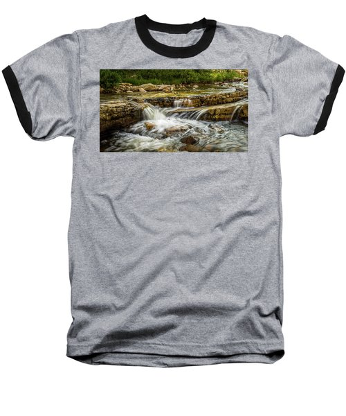 Rushing Waters - Upper Provo River Baseball T-Shirt