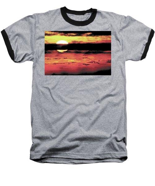 Russet Sunset Baseball T-Shirt