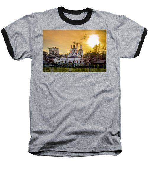Baseball T-Shirt featuring the photograph Russian Ortodox Church In Moscow, Russia by Alexey Stiop