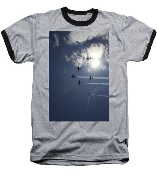 Baseball T-Shirt featuring the photograph Russian Roolettes And Sydney Sun by Miroslava Jurcik