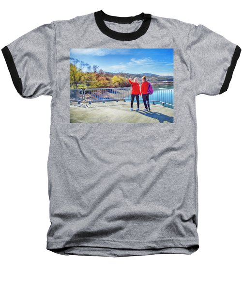 Baseball T-Shirt featuring the photograph Russian Selfie by Theresa Tahara