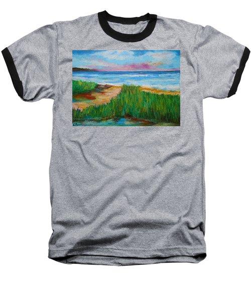 Russland Beach / Sweden Baseball T-Shirt