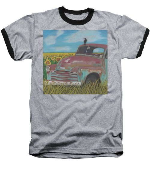 Rust And Gold Baseball T-Shirt