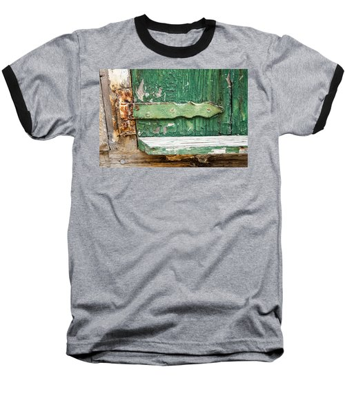 Rust And Paint Baseball T-Shirt by Allen Carroll