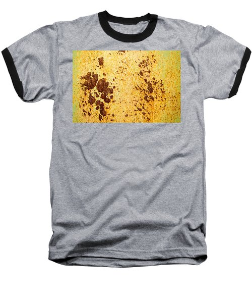 Rust Metal Baseball T-Shirt