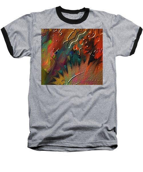 Baseball T-Shirt featuring the painting Rust Never Sleeps by Kevin Caudill