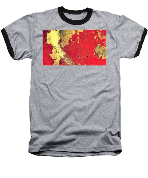 Rust Baseball T-Shirt by Paulo Guimaraes