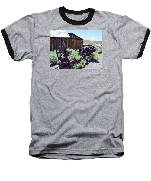 Rust Sleeps Baseball T-Shirt