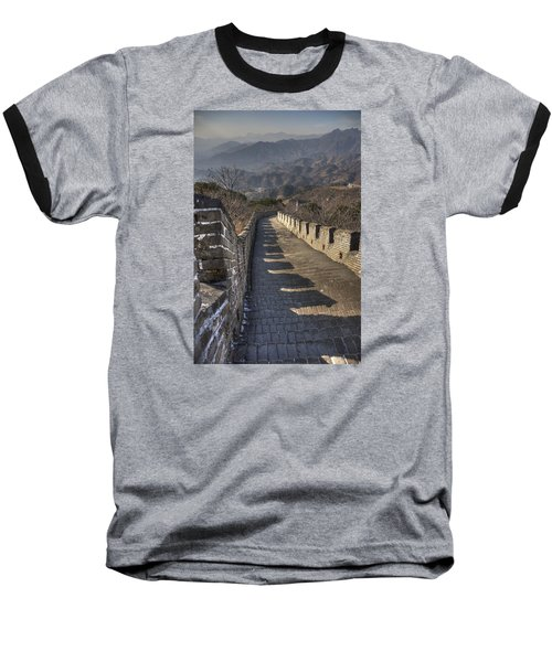 Baseball T-Shirt featuring the photograph Rusti  Great Wall Hdr by Matthew Bamberg