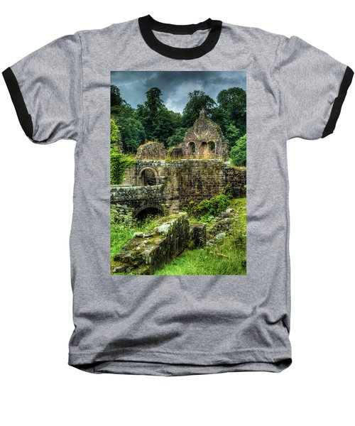 Rustic Abbey Remains Baseball T-Shirt