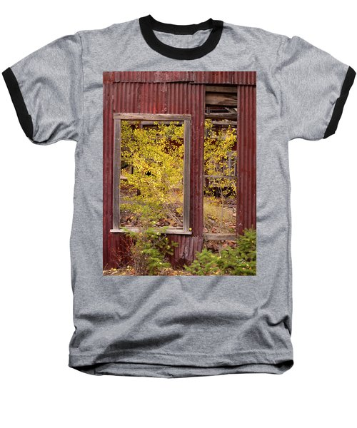 Baseball T-Shirt featuring the photograph Rustic Autumn by Leland D Howard