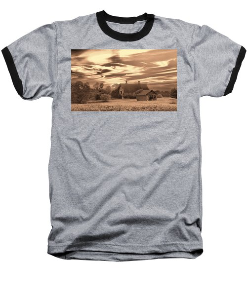 Rustic Barn 2 Baseball T-Shirt