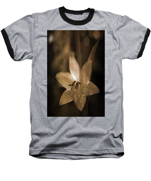 Rustic Bloom Baseball T-Shirt