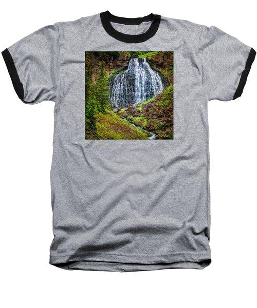 Baseball T-Shirt featuring the photograph Rustic Falls  by Rikk Flohr