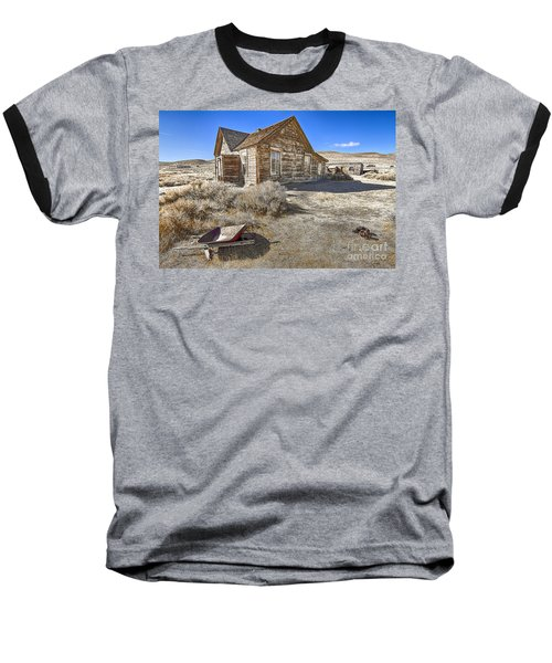 Baseball T-Shirt featuring the photograph Rustic House by Jason Abando