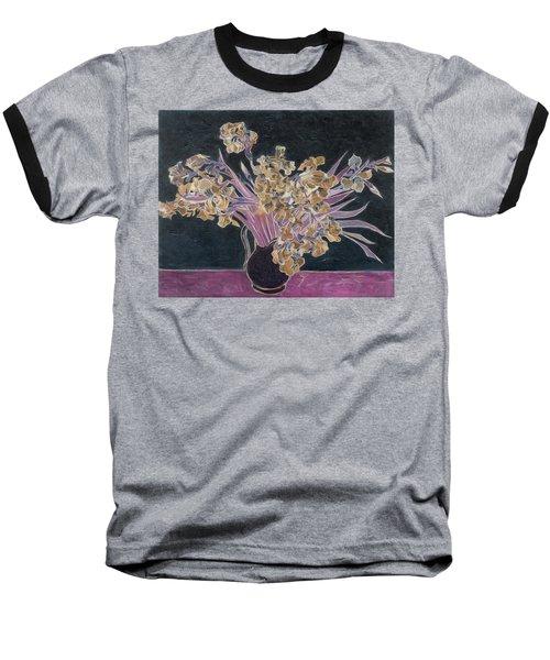 Rustic II Van Gogh Baseball T-Shirt by David Bridburg
