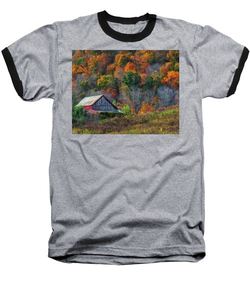 Rustic Out Building In Southern Ohio  Baseball T-Shirt