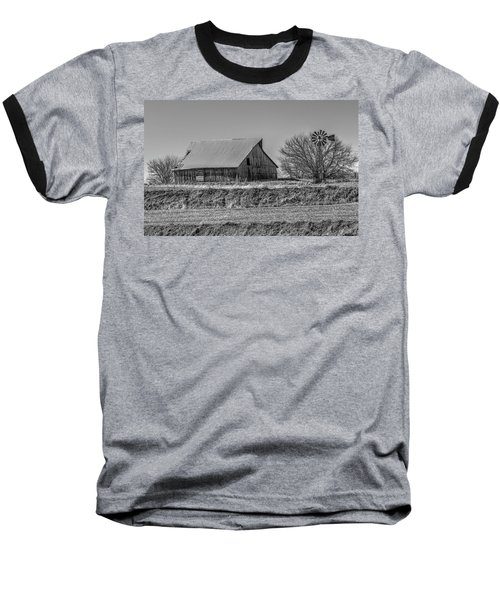 Rustic Rural Iowa Baseball T-Shirt