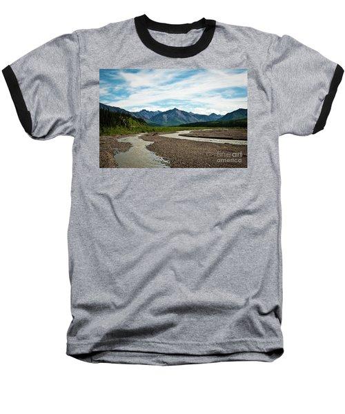 Rustic Water Baseball T-Shirt