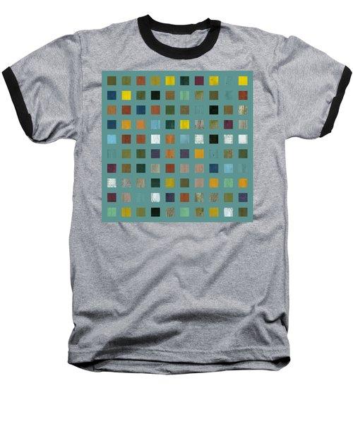 Rustic Wooden Abstract Vl Baseball T-Shirt