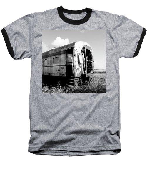 Rusting On The Rails Baseball T-Shirt
