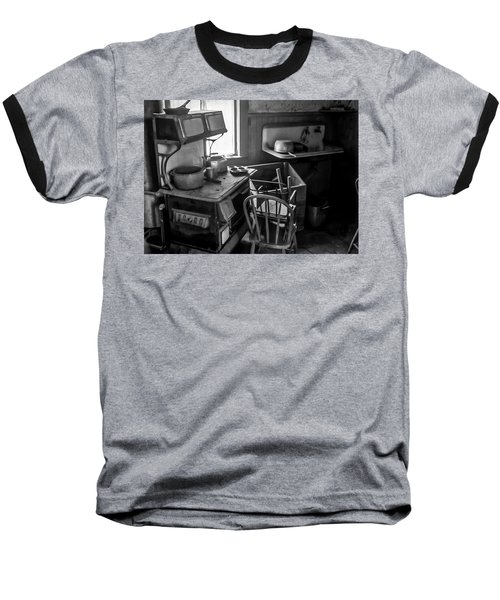 Rusting Pots And Pans, Bodie Ghost Town Baseball T-Shirt