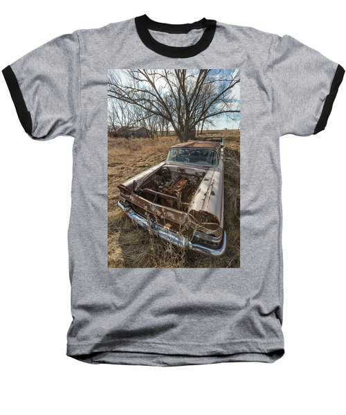 Baseball T-Shirt featuring the photograph Rusty by Aaron J Groen