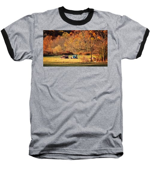 Baseball T-Shirt featuring the photograph Rusty And Oldie by Eduard Moldoveanu
