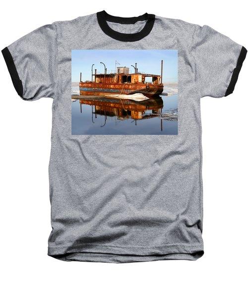 Rusty Barge Baseball T-Shirt